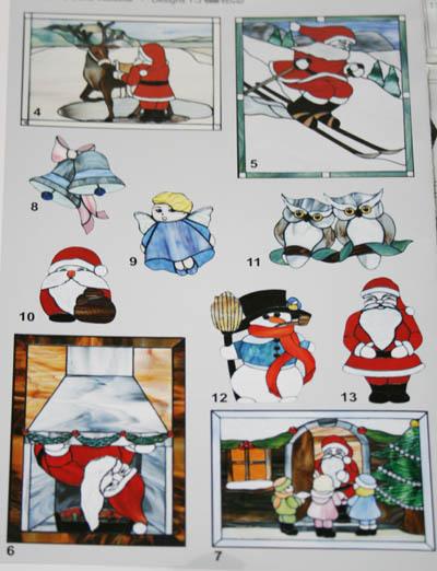 vorlagenheft frohe weihnachten glaskunst glasgestaltung. Black Bedroom Furniture Sets. Home Design Ideas